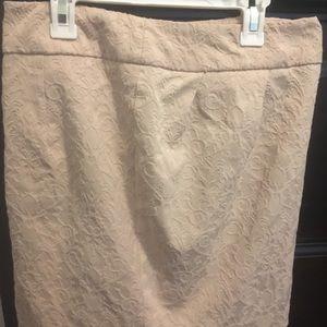 Beige skirt size6